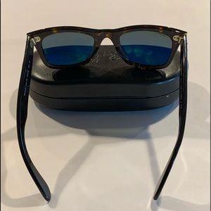 RayBan 901/58 Wayfarer Sunglasses Polarized w/Case